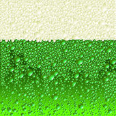 Green beer — Stockvektor