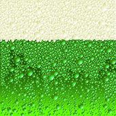 Green beer — Vettoriale Stock