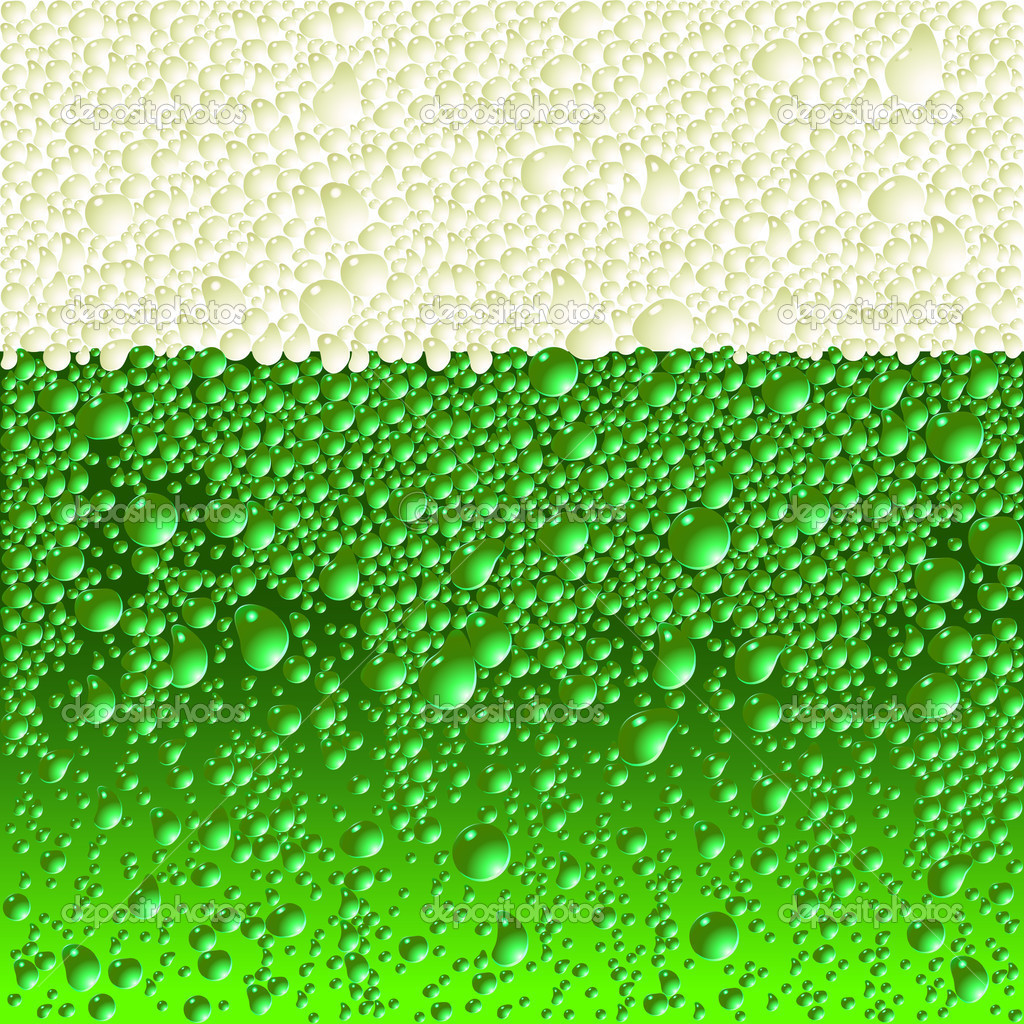 Green beer, this illustration may be useful as designer work  Stock Vector #3627429