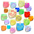 Royalty-Free Stock Vector Image: Tags with emoticons