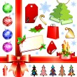 Christmas set — Stock Vector #3676420