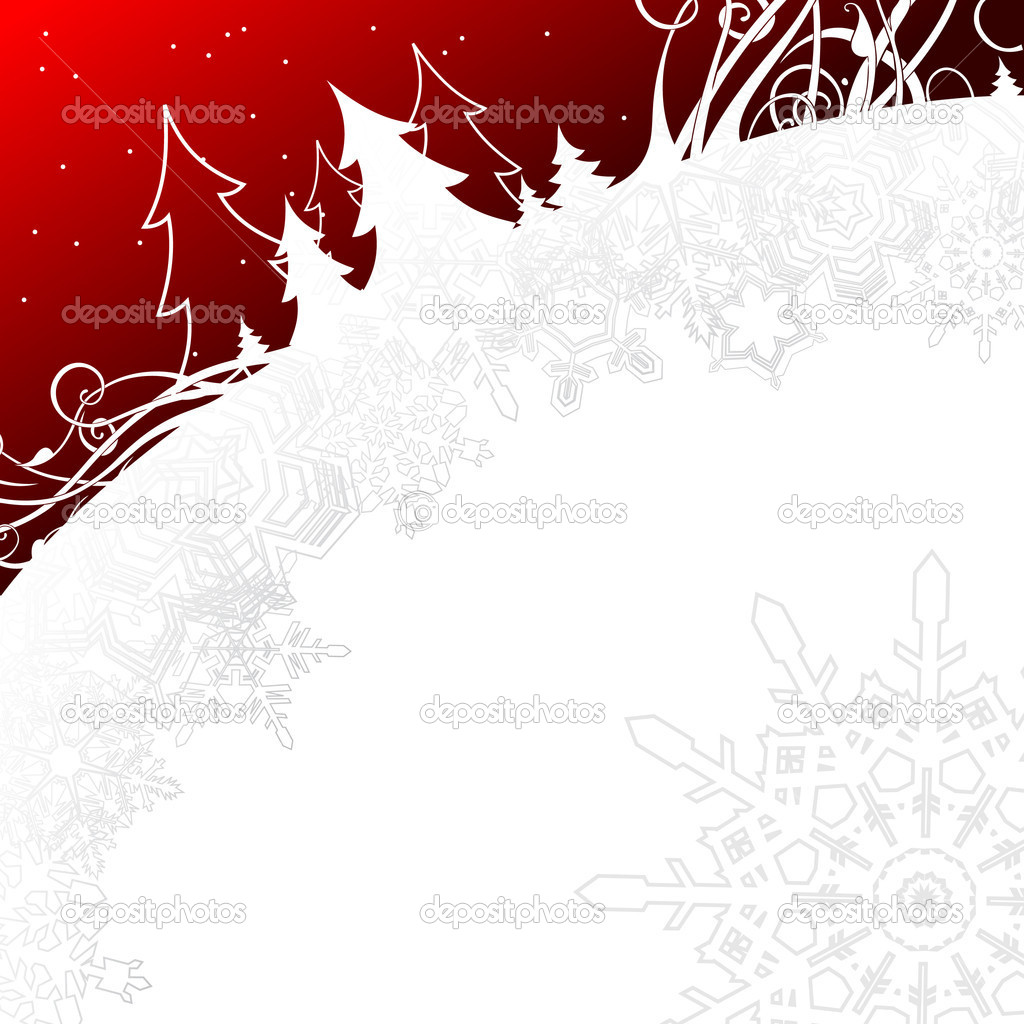 Christmas background, this  illustration may be useful  as designer work — Imagens vectoriais em stock #3674046