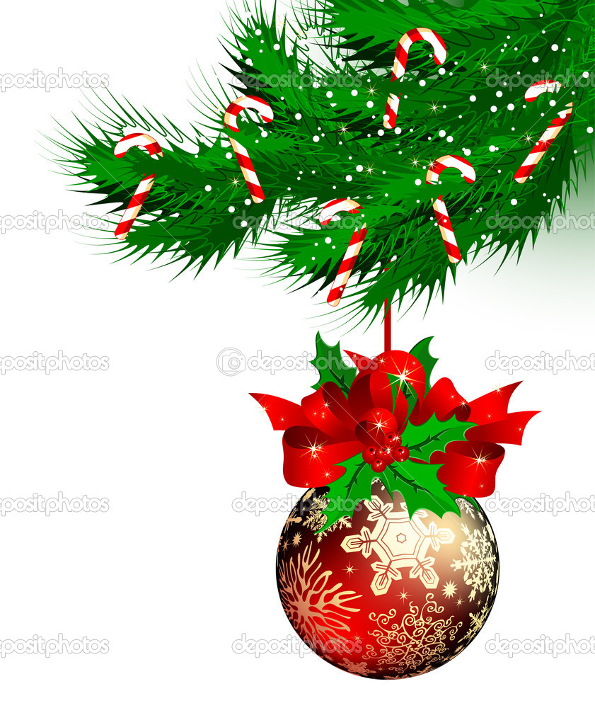 Christmas background, this  illustration may be useful  as designer work  Stock Vector #3676371