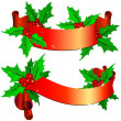 Christmas ornamentation - Imagens vectoriais em stock