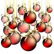 Christmas balls - Imagens vectoriais em stock