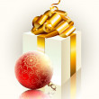 Christmas gift - Imagens vectoriais em stock