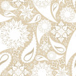 Seamless floral texture - Stock Vector