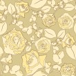 transparente textura floral — Vector de stock
