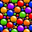 Seamless with colored balls — Stock Photo