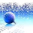 Chruistmas background - Imagens vectoriais em stock