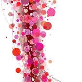 抽象粉红色背景 — 图库矢量图片