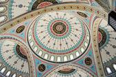 Türkische malerei an der decke einer moschee in manavgat — Stockfoto