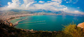 Alanya city harbor — Stockfoto