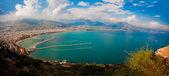 Alanya city harbor — Stock Photo