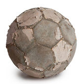 Old football — Foto Stock