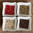 Stock Photo: Pepper assortment