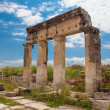 Stock Photo: Columns in Hierapolis