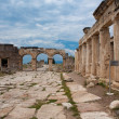 Domitian gate in Hierapolis - Stock Photo
