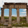 Columns in Hierapolis - Stock Photo