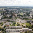 Housing estates in Vilnius - Stock Photo