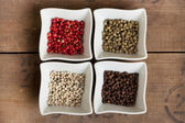 Pepper assortment — Stock Photo