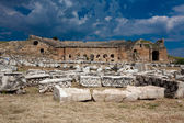 Theatre in Hierapolis — Stock Photo