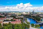 Vilnius panorama — Stockfoto