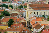 Vilnius cityscape — Stock Photo
