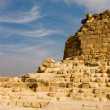 Stock Photo: Ruins of pyramids