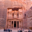 Petra in Jordan — Stockfoto