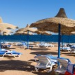 Beach in Sharm el Sheikh — Stock Photo