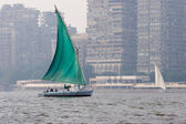 Felucca on Nile — Stock Photo