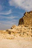 Ruins of pyramids — Stock Photo