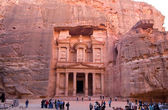 Petra in jordanië — Stockfoto