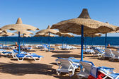 Beach in Sharm el Sheikh — Foto Stock