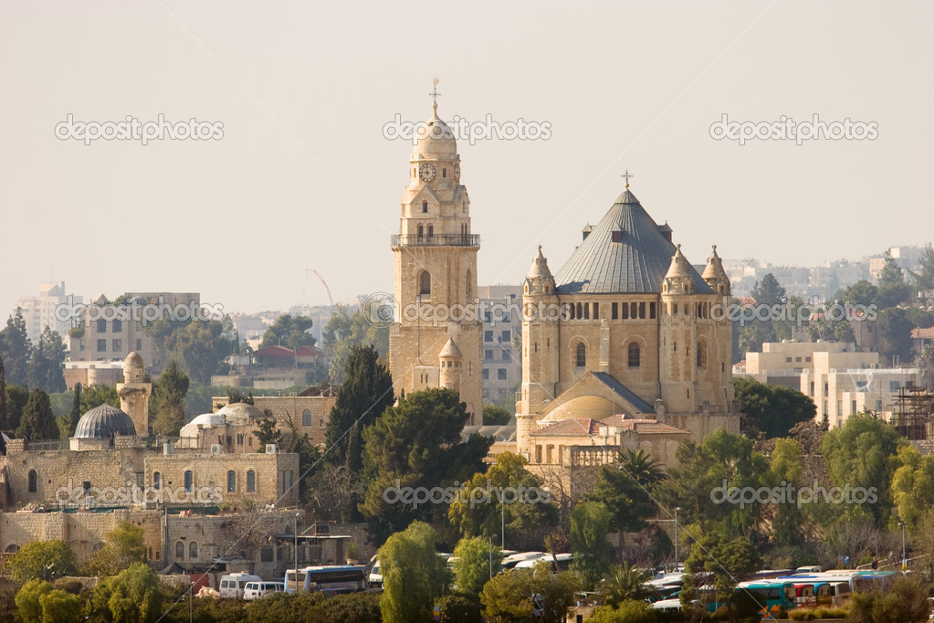 Church of the Dormition, Jerusalem, Israel — Stock Photo #3564673