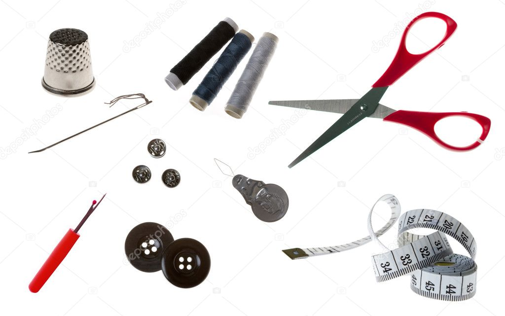 Sewing tools  Stock Photo #3564737
