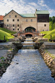 French (Belmont) mill complex — Stock Photo