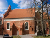 The Church of St Nicholas in Vilnius — Foto Stock