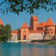 trakai island castle — Stock Photo