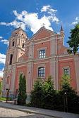 ビリニュスのすべての聖者の教会 — ストック写真