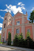 The Church of All Saints in Vilnius — Stock Photo