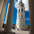 Belfry of Vilnius Cathedral - Stock Photo