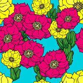 Cactus flower wallpaper — Stock Photo