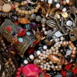 Bucket of bling - Stockfoto