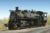 古董蒸汽引擎 — 图库照片