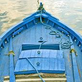Blue boat — Stock Photo