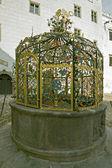 历史喷泉 — 图库照片