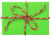 Green parcel — Stock Photo