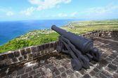 Brimstone Hill Fortress - St Kitts — Stock Photo